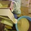 家庭用籾摺り機のミニダップ。