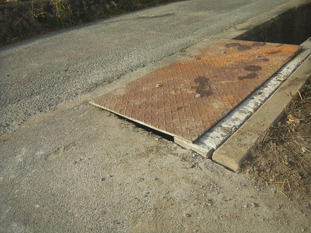 自作の鉄板の蓋の完成。