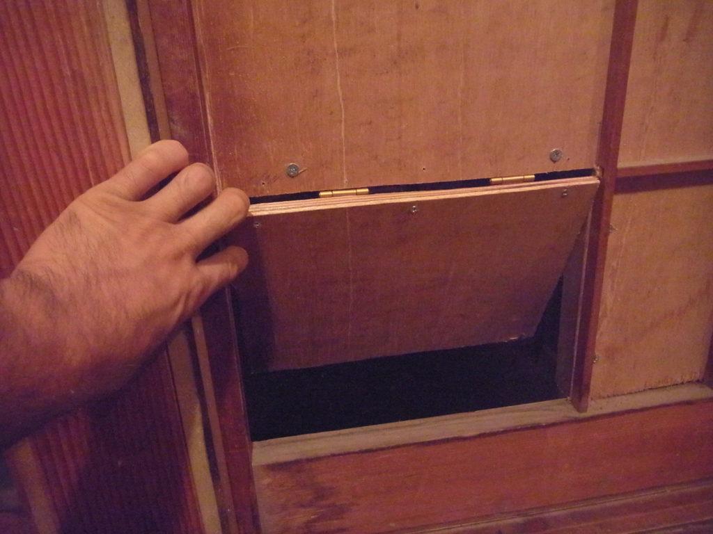 猫の入り口を新設する。