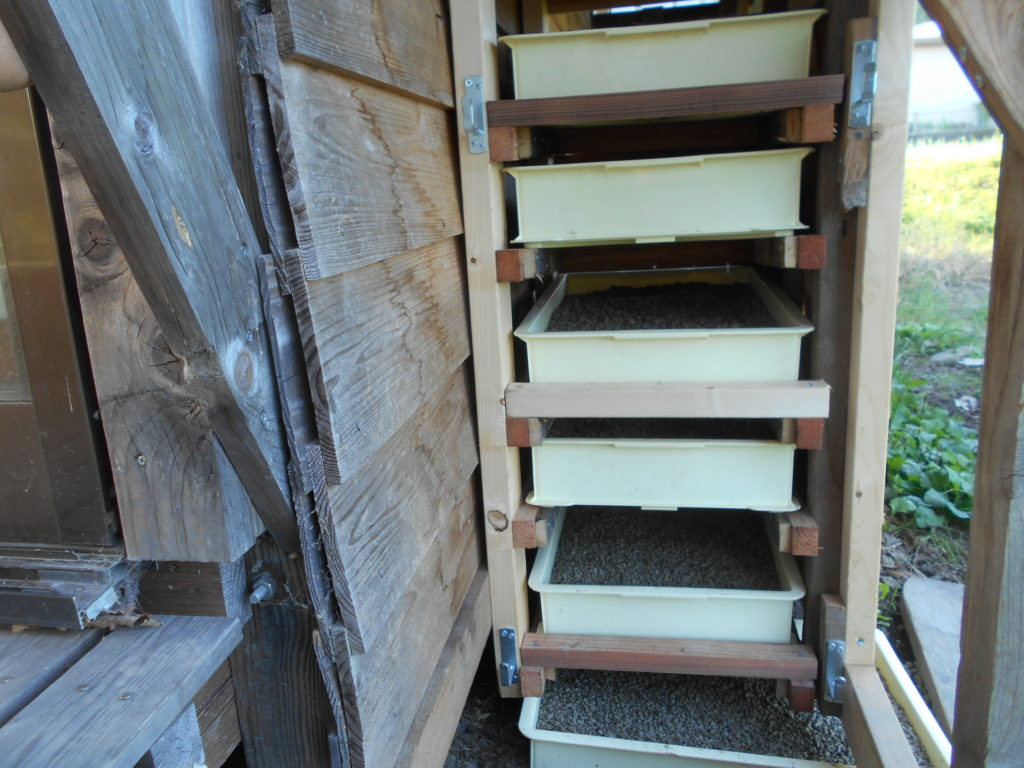 台所排水の浄化装置の完成。