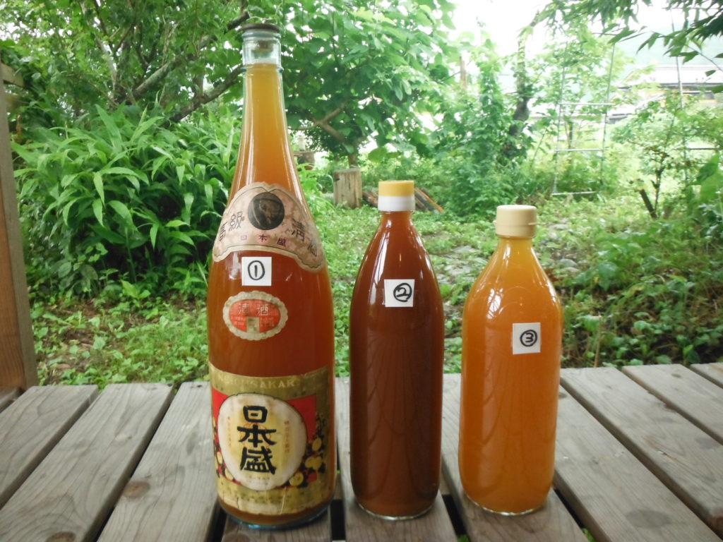 自家製、柿酢の作り方。