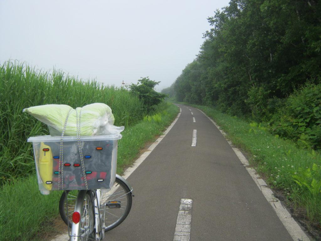 オホーツク自転車道を走る。