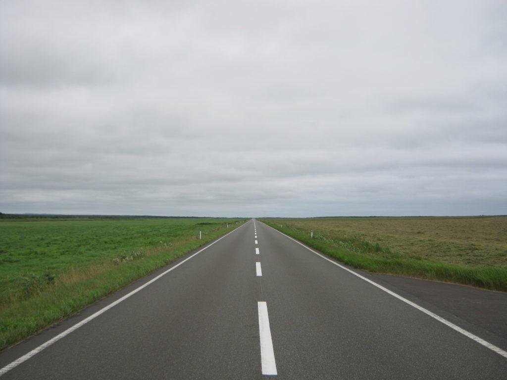 北海道エサヌカ線。