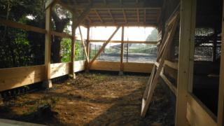 鶏小屋の増築②