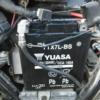 グラストラッカーのバッテリー交換。