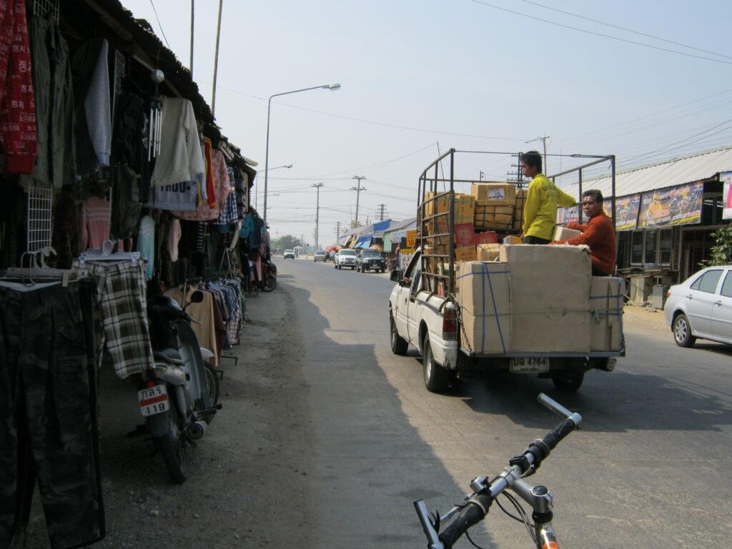 小型のトラック。