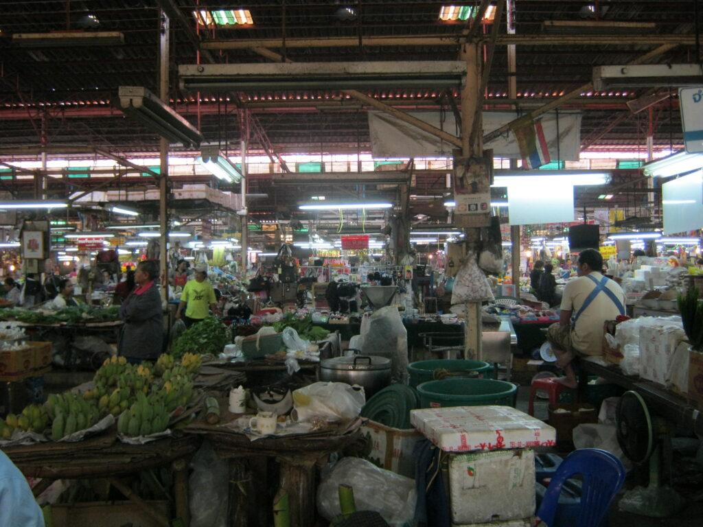 ナコンラーチャシーマにある市場。