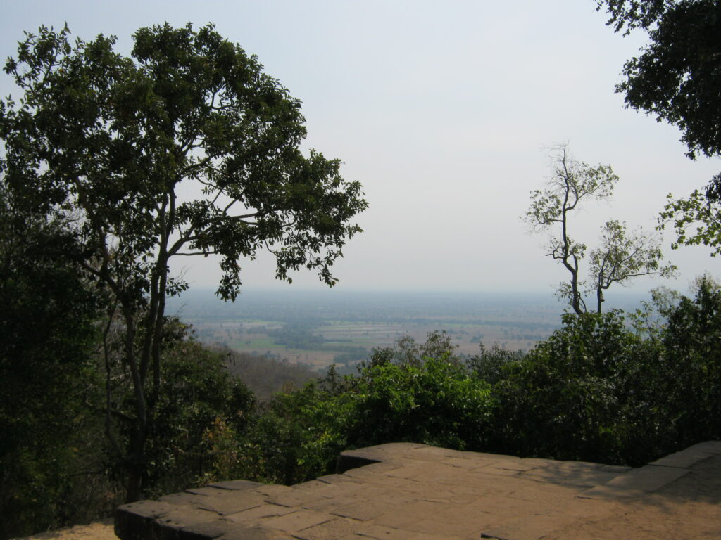 パノム・ルンからの景色。