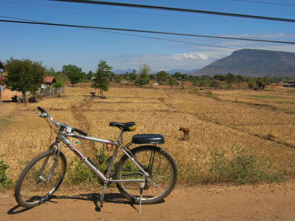 パークセー周辺を自転車でまわる。